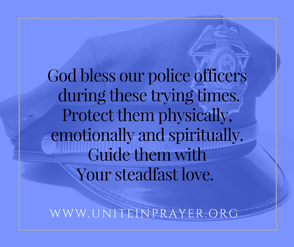 God bless our police officers
