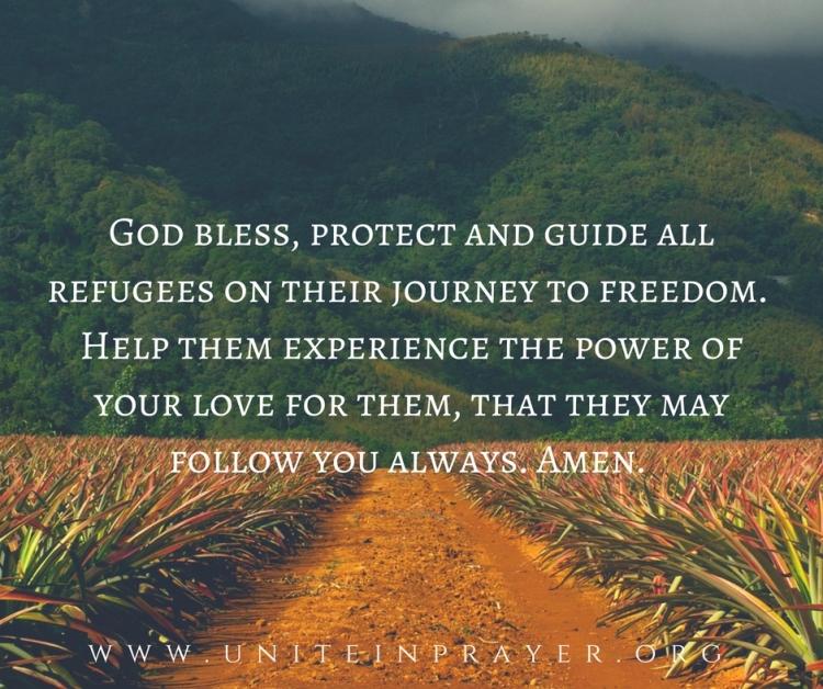prayer for refugees